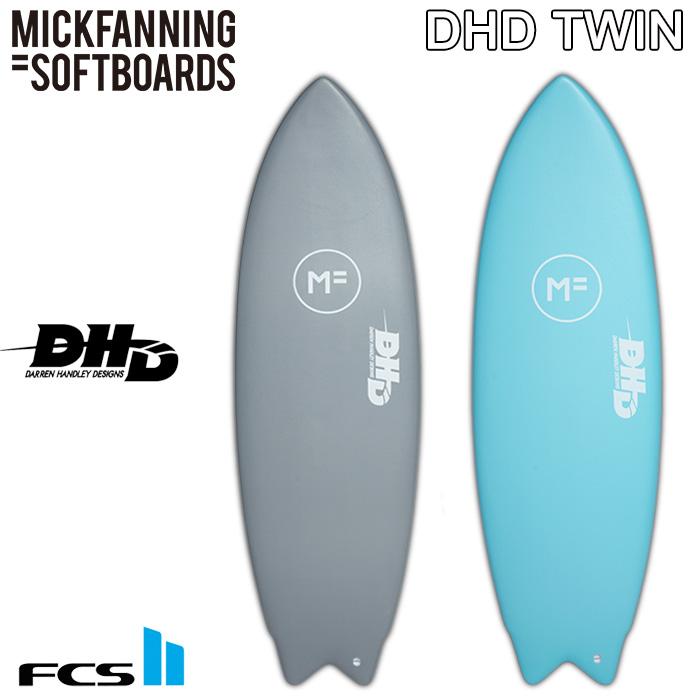 MICK FANNING SOFT BOARDS DHD THE TWIN ミックファニング ソフトボード ダレンハンドレー ツイン 【サーフボード サーフィン 日本正規品】