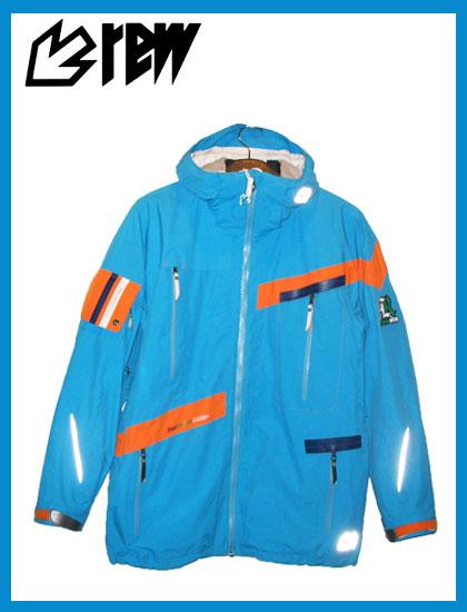 REW BIRDMAN ジャケットカラー SKY×ORANGE【スノーボード ウェア】715005