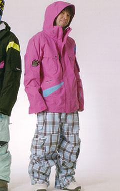 ★新品未開封REW KAMIKAZEジャケットL-PINK X L-BLUEカミカゼ OFF!【スノーウェア 送料無料】715005