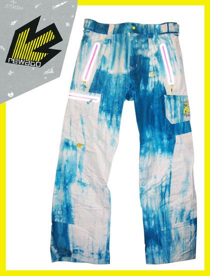 REW REALITY CARGO パンツ カラー TIE-DYE 【スノーボード ウェア 送料無料】【タイダイ】715005