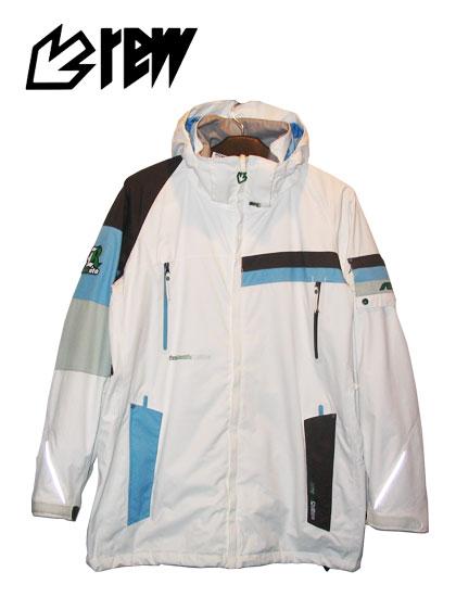 REW SPACE TRAVELER ジャケットカラー WHITE×D-BROWN×L-BLUE×GRAY【スノーボード ウェア】715005