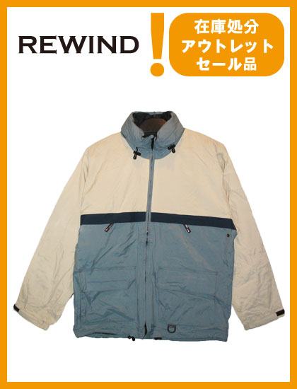 REWIND GIN TONIC JACKET color BLUE×STONE