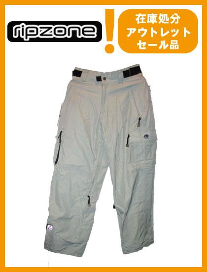 RIPZONE TRILOGY PANTS カラー WHITE 【リップゾーン パンツ】【スノーボード ウェア】