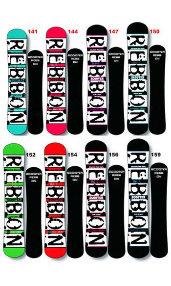 11-12NEWモデル 販売中 SCOOTER REBBON スクーター スノーボード リボン 送料無料 チューンナップ無料 715005 お花見 ホワイトデー キャンセル・変更について