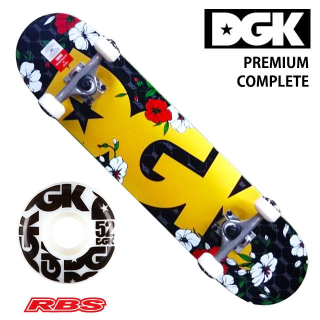 DGK デッキ スケートボード コンプリートセット PREMIUM COMPLETE サイズ 7.5 7.75 8.0 【DGK デッキ】【スケボー 完成品】【送料無料 日本正規品】