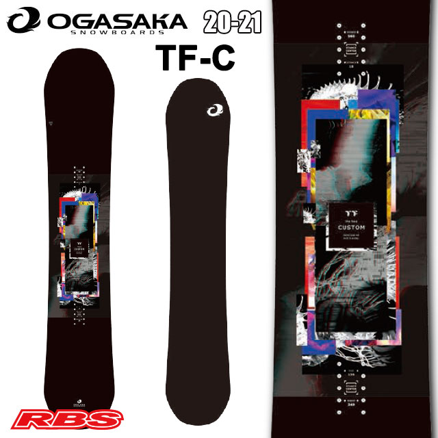 OGASAKA 20-21 オガサカ TF-C 【オガサカ スノーボード キャンバー】【送料無料・チューンナップ無料】【日本正規品 予約商品】
