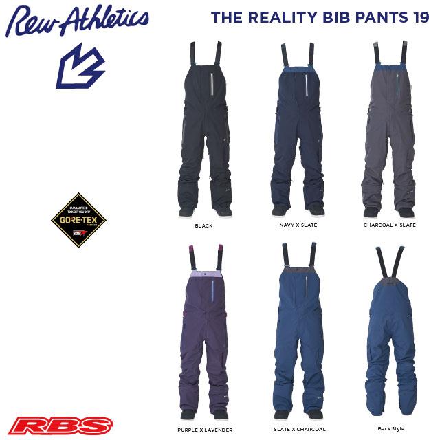 REW 20-21 THE REALITY BIB パンツ GORE-TEX ゴアテックス 【スノーボード ウェア 2020 2021】【リアリティー ビブパンツ】【送料無料 日本正規品 予約商品】