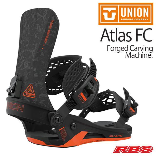 UNION 20-21 BINDING ATLAS FC アトラス エフシー BLACK ブラック 【ユニオン 20-21 バインディング】【スノーボード ビンディング】【送料無料 日本正規品 予約商品】