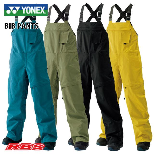 耐水圧30000mm YONEX BIB 秀逸 PANTS ヨネックス ビブパンツ スノーボード SW8562 ウェア 撥水 送料無料 オンライン限定商品 日本正規品 防水 20-21
