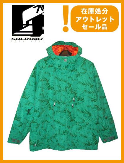 SOLD OWT 15 JACKET カラー GREEN CAROL 【ソールドアウト ジャケット】【スノーボード ウェア】