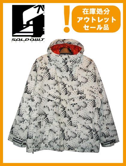SOLD OWT 15 JACKET カラー WHITE CAROL 【ソールドアウト ジャケット】【スノーボード ウェア】
