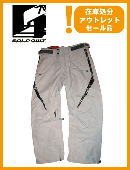 SOLD OWT E-VENT PANTS カラー GRAY 【ソールドアウト パンツ】【スノーウェア】715005