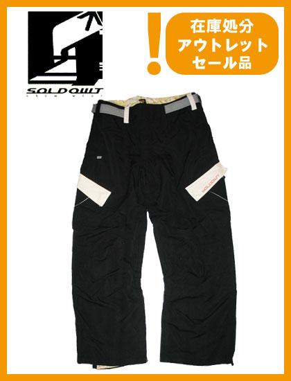 SOLD OWT RUSTORE SGX PANTS カラー BLACK 【ソールドアウト パンツ】【スノーウェア】715005