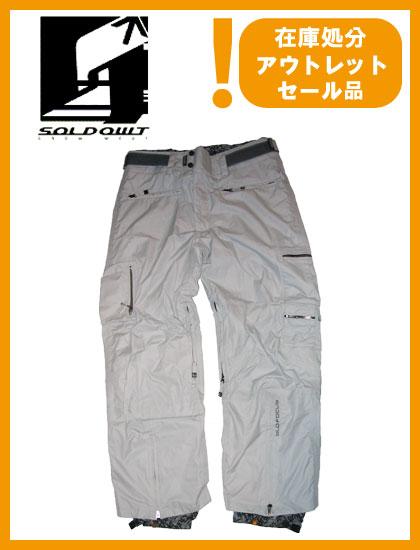 SOLD OWT S,L,D PANTS カラー GRAY 【ソールドアウト パンツ】【スノーウェア】