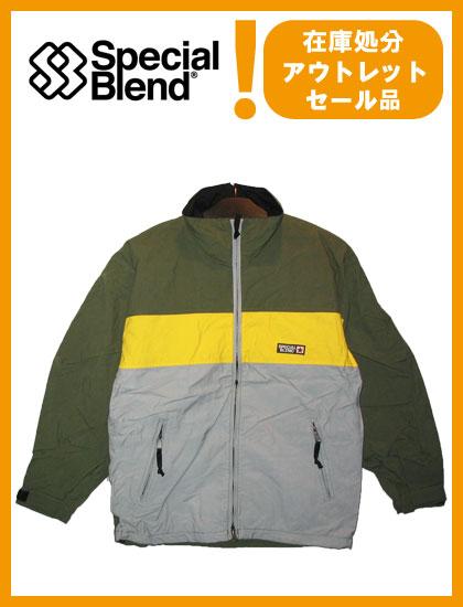 SPECIAL BLEND DEFENDER JACKET カラー D-GREEN 【スペシャルブレンド ジャケット】【スノーボード ウェア】