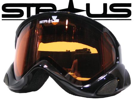 STATUSDEEP BLACK ORANGE AY【ステータス ブラック】【スノーボード ゴーグル】【日本正規品】715005