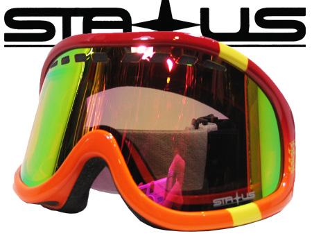 STATUSST MODELRED ORANGE FLASH RUBY PINK AY【ステータス オレンジ】【スノーボード ゴーグル】【日本正規品】715005