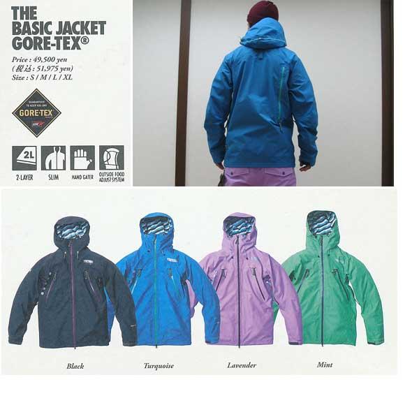 TRITON THE BASIC JACKET GORE-TEX 【トライトン ベーシック ジャケット】【12-13 スノーボードウェア】715005