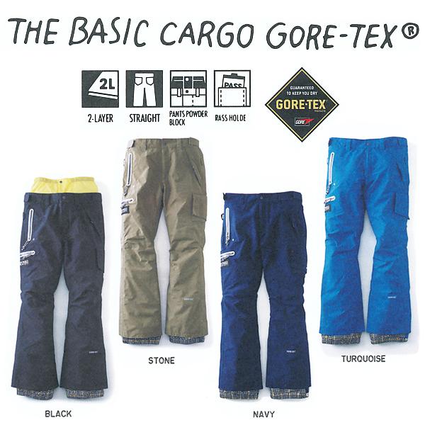 販売開始!13-14 NEW MODEL!TRITON THE BASIC CARGO パンツ GORE-TEX 【 トライトン】【13-14 スノーボードウェア】715005