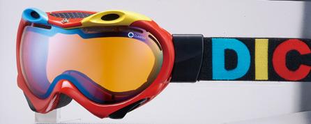 DICE TRUMP REDPASTEL BLUE MIRRORANTI-FOGDOUBLE LENSLENS ORANGE BASE【スノーボード ゴーグル】【ダイス トランプ】【送料無料】