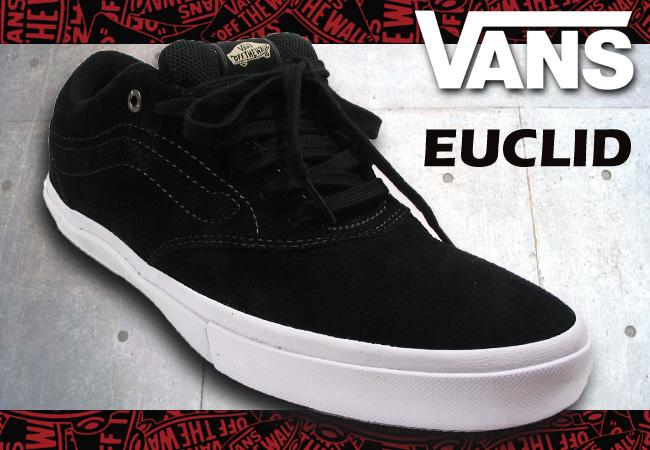 551560285f2b Pro Shop RBS  VANS EUCLID BLACK WHITE  fs04gm