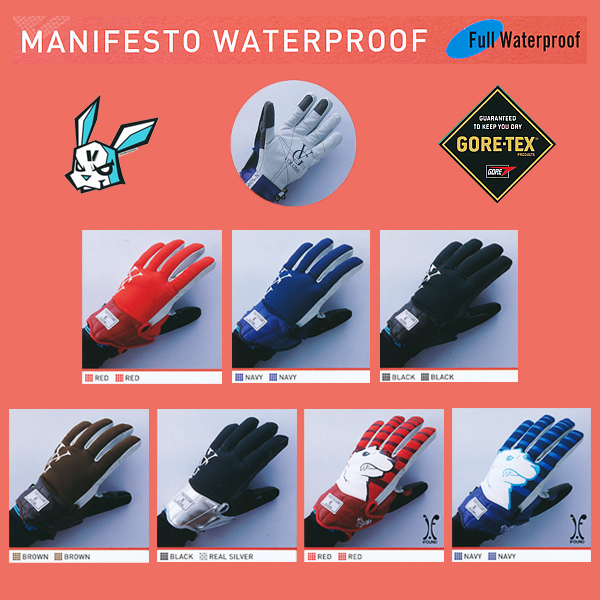 送料無料!13-14 NEW MODEL! VOLUME GLOVES MANIFESTO WATERPROOF GORE-TEX 【13-14 スノーボード グローブ】715005