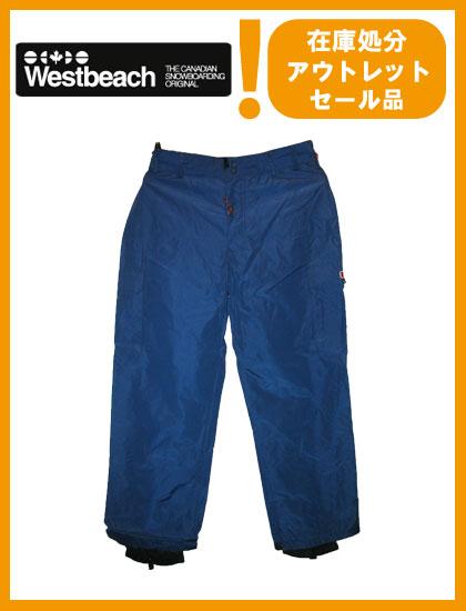 WESTBEACH PANTS カラー NAVY 【ウエストビーチ パンツ】【スノーボード ウェア】