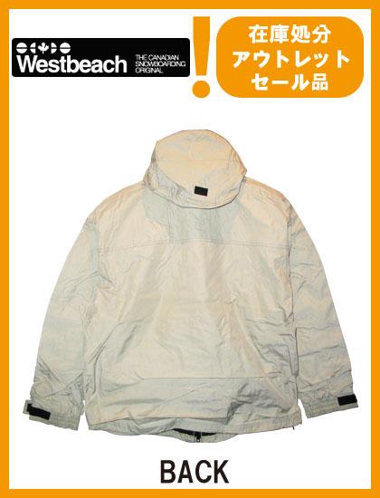 WESTBEACH VITALE JACKET カラー CREAM 【ウエストビーチ ジャケット】【スノーボード ウェア】