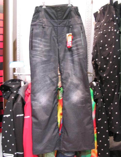 YONEX UNIヒートカプセル パンツ THE 7 カラー ブラック 【スノーウェア ヨネックス】【日本正規品】