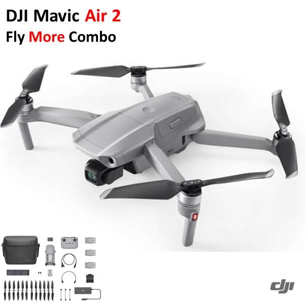 DJI Mavic Air 2 Fly More Combo フライモア コンボ ドローン カメラ付き【入荷待ち】【未開封・動作点検なしでの発送】