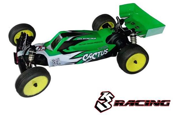!【3RACING/3レーシング】 KIT-CACUTASPRO CACTUS PRO (カクタス プロ) 組立キット【お取り寄せ商品】