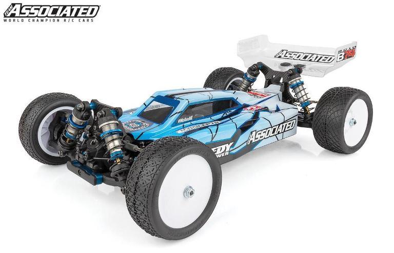 !【ASSOCIATED/アソシエイテッド】 90026 4WDオフロードバギー RC10B74 Team Kit シャーシキット (未組立) ≪ラジコン≫