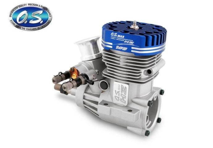 18700 【OS ENGINE/小川精機】 MAX-105HZ グローエンジン (2ストローク・ヘリコプター用)【お取り寄せ品】