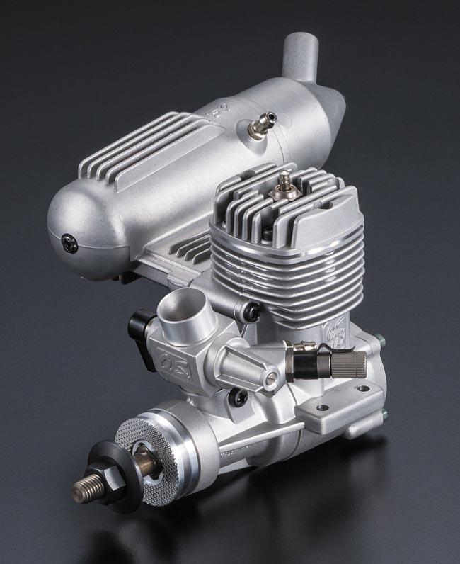 12662 【OS ENGINE/小川精機】 MAX-25FXII グローエンジン (2ストローク・飛行機用)