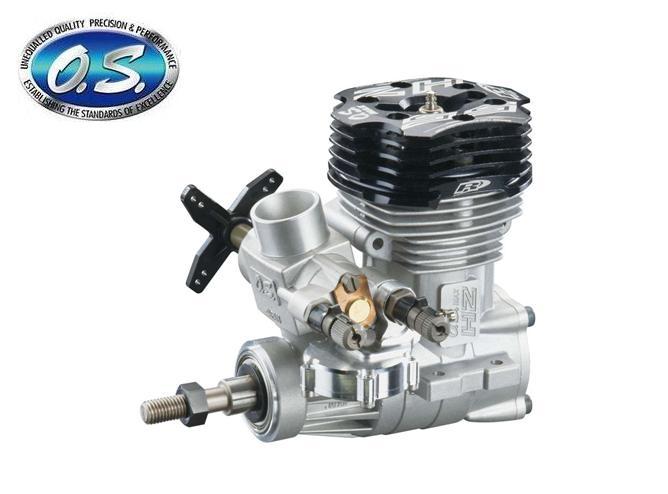 15650 【OS ENGINE/小川精機】 MAX-55HZ-R グローエンジン (2ストローク・ヘリコプター用)