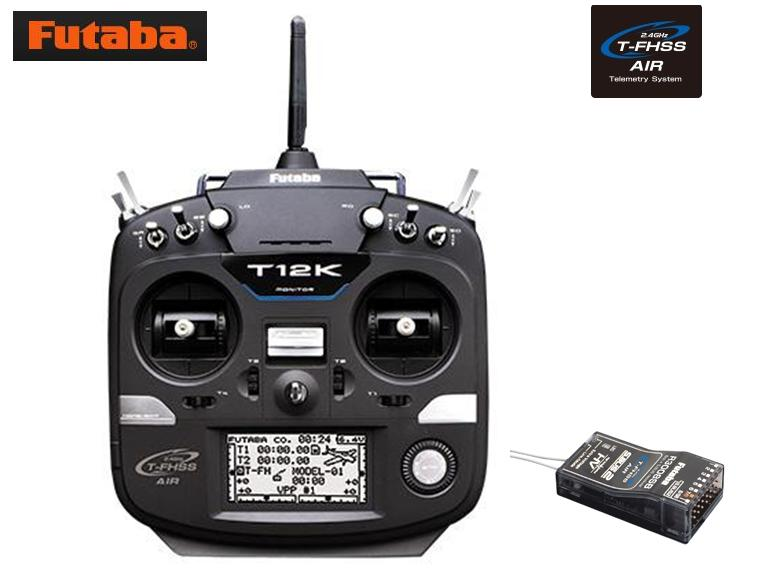 8547 【FUTABA/フタバ/双葉電子工業】 12K ヘリコプター用 送信機・R3008SB受信機セット Mode1