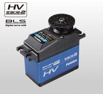 00106873-1 【FUTABA/フタバ/双葉電子工業】 BLS172SV ハイボルテージ・ブラシレスS.BUSサーボ(大型機用)【スタンダードサイズ】