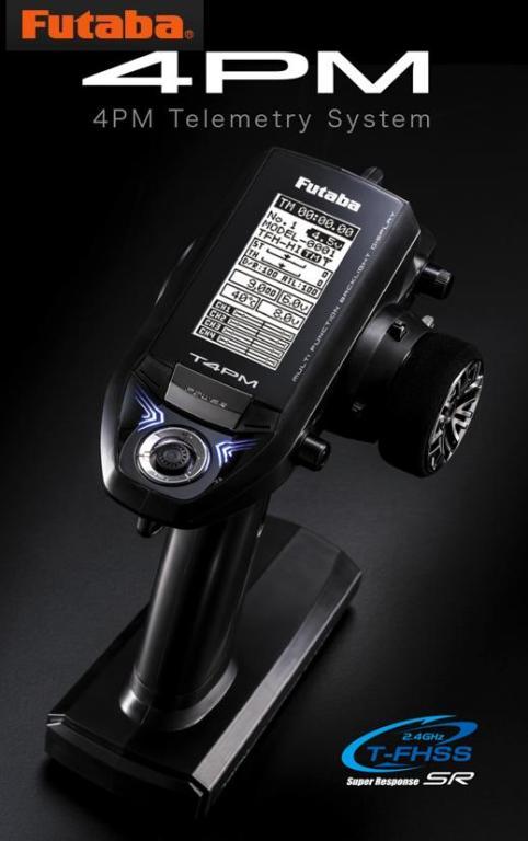 8582 【FUTABA/フタバ/双葉電子工業】 4PM 送信機・R334SBS-E(SR)×2受信機 Wレシーバーセット(送信機乾電池仕様)