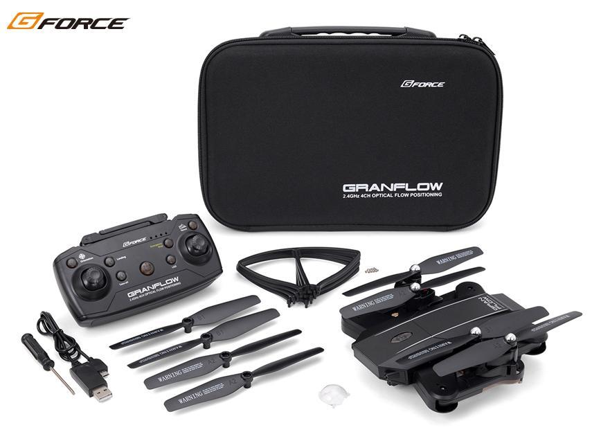 !【G-FORCE /ジーフォース】 GB060 GRANFLOW (グランフロー) BlacK MODE1仕様 「デュアルカメラ搭載 FPV ドローン」