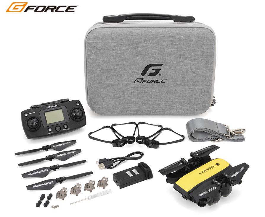 !【G-FORCE /ジーフォース】 GB080 INGRESS(イングレス) GPS X 1080p Wi-Fiカメラ搭載インテリジェント ドローン