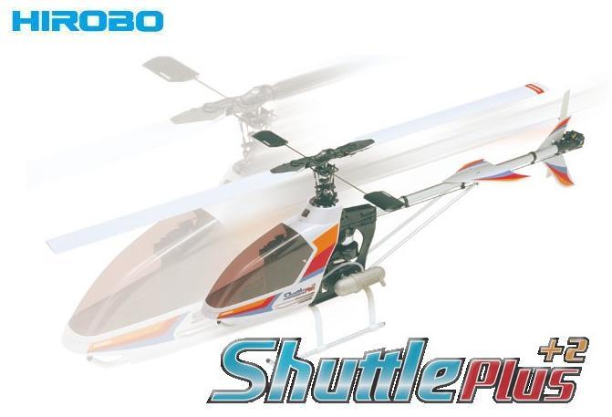 ! 【HIROBO/ヒロボー】 0412-970 Shuttle Plus+2 (シャトルプラス+2) OS:32SX-Hエンジン・マフラー付半完成キット [30クラスエンジン RCヘリコプター] ≪ラジコン≫