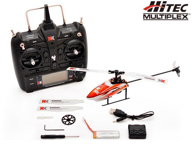 !【HITEC MULTIPLEX/ハイテックマルチプレックスジャパン】 K110 XK K110 6CH 3D6Gシステムヘリコプター RTF (完成品) ≪ラジコン≫