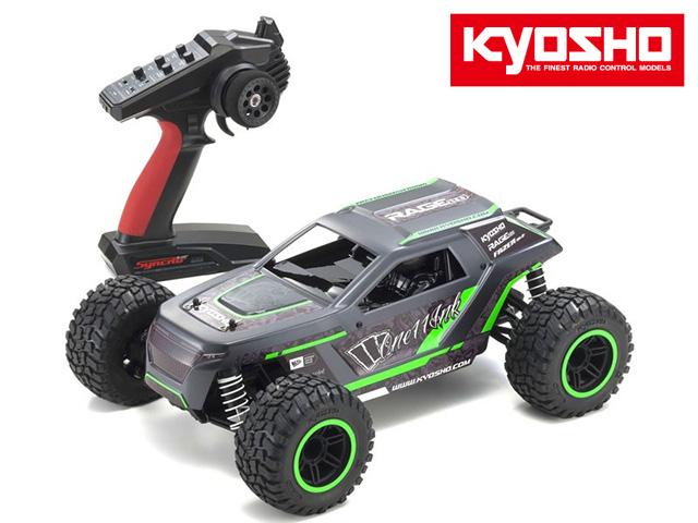 !【KYOSHO/京商】 34411T2 1/10 電動RC 4WDトラック レディセット フェーザーMk2 レイジ2.0 カラータイプ2(シンクロKT-231P+付)完成車