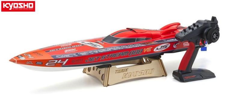 !【KYOSHO/京商】 40232S2 電動RCレーシングボート ジェットストリーム888VE レディセット KT-231P+付(工場完成船体)<バッテリー・充電器別売> ≪ラジコン≫