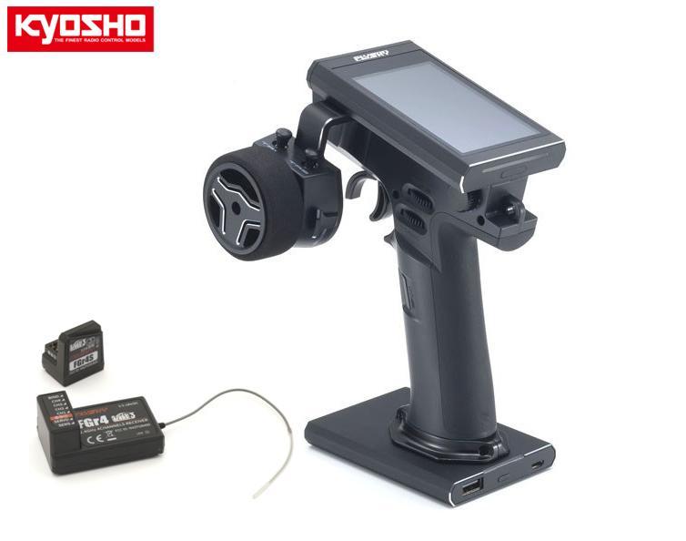 82151 【KYOSHO/京商】 Flysky 2.4GHz デジタルプロポーショナルラジオコントロールシステム Noble NB4 テレメトリー 4ch Tx/Rxセット(カー/ボート用)