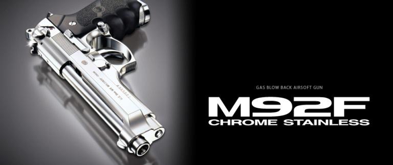 142122 TOKYO お買い得品 お買い得 MARUI 東京マルイ クロームステンレス 対象年齢18才以上 ガスブローバック M92F