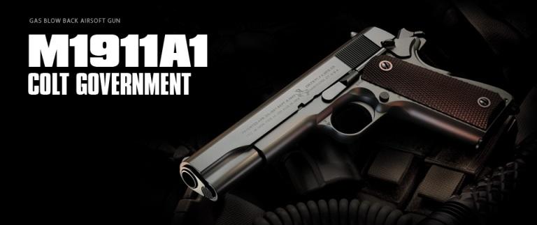 142207【TOKYO MARUI/東京マルイ】 M1911A1コルトガバメント 【ガスブローバック/対象年齢18才以上】