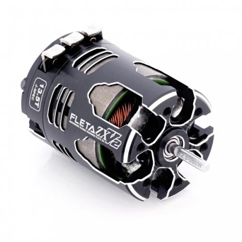 MR-V2ZX135J 【Muchmore Racing/マッチモア レーシング】 FLETA ZX V2 13.5T JMRCA Spec ブラシレスモーター