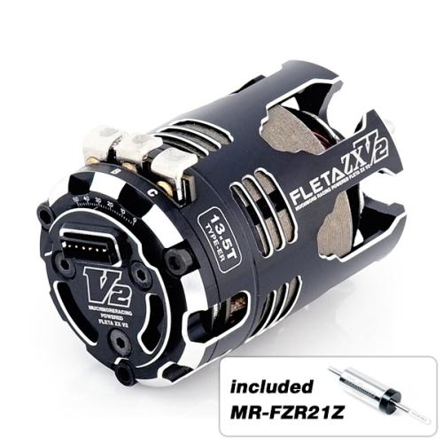 MR-V2ZX135ERZ 【Muchmore Racing/マッチモア レーシング】 FLETA ZX V2 13.5T ER Spec w/21Z ブラシレスモーター