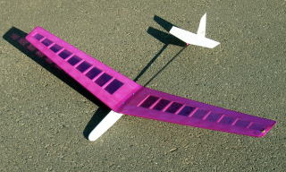 ! 【ムサシノ模型飛行機研究所】 00044 ホリディ 小型SALグライダー (国産カーボンパイプ仕様) [RCグライダー 組立キット] (未組立) ≪ラジコン≫